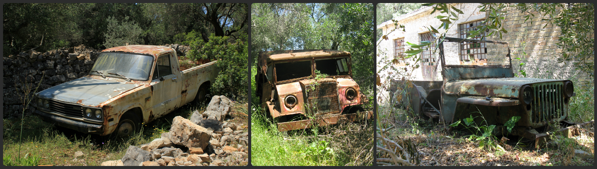 Abandoned vehicles