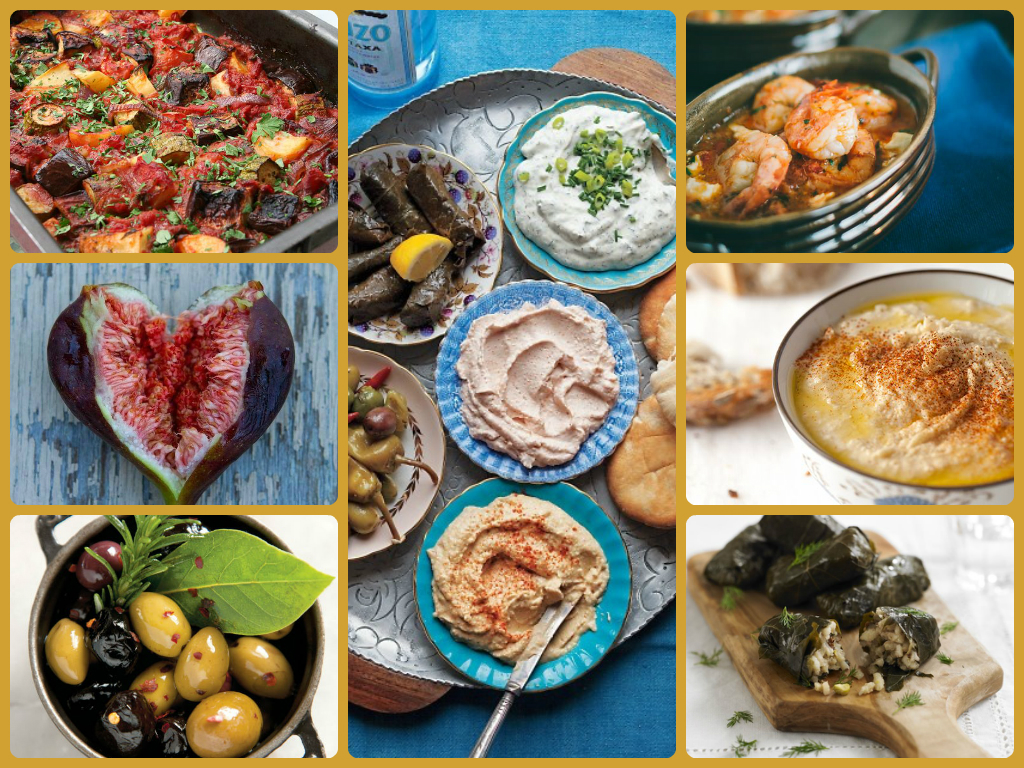 I cannot take credit for these: a selection of my favourite Greek food photos from Pinterest