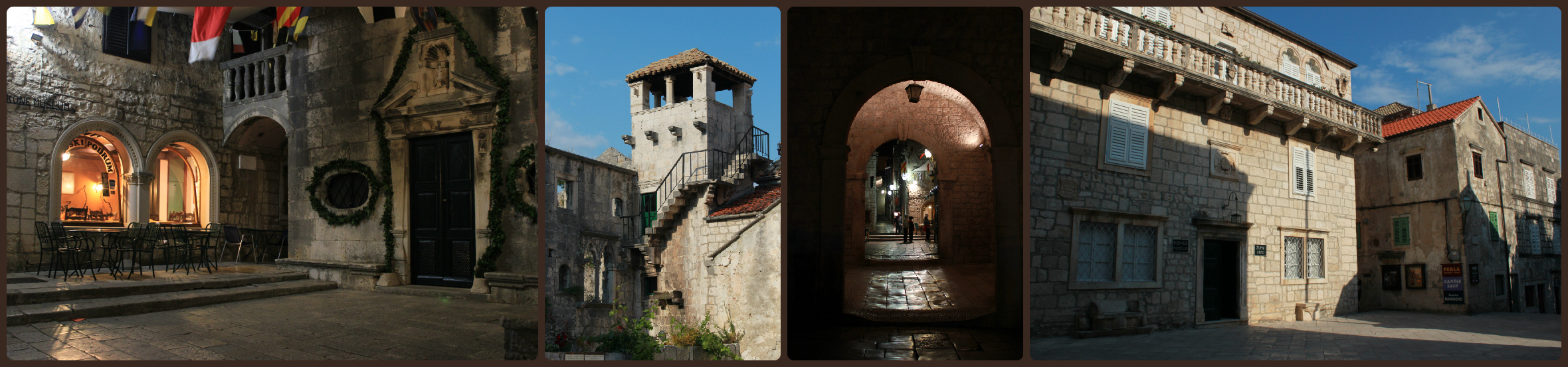Old Town streets, Korcula