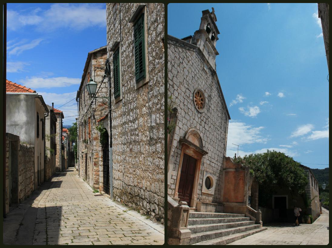 Stari Grad's ancient streets