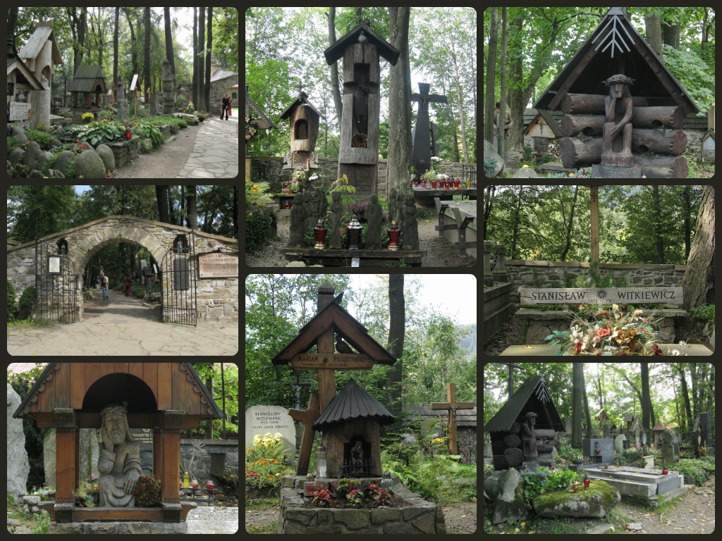 Zakopane's beautiful cemetery