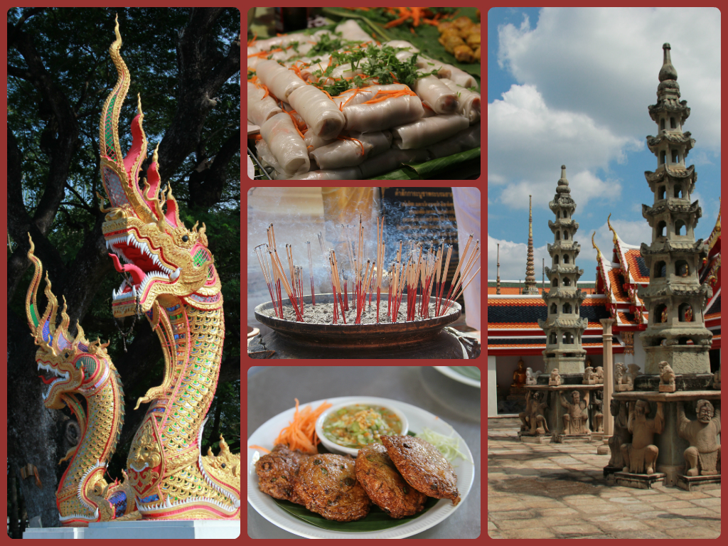 The sights, sounds, aromas and flavours of   Thailand, one of my favourite countries