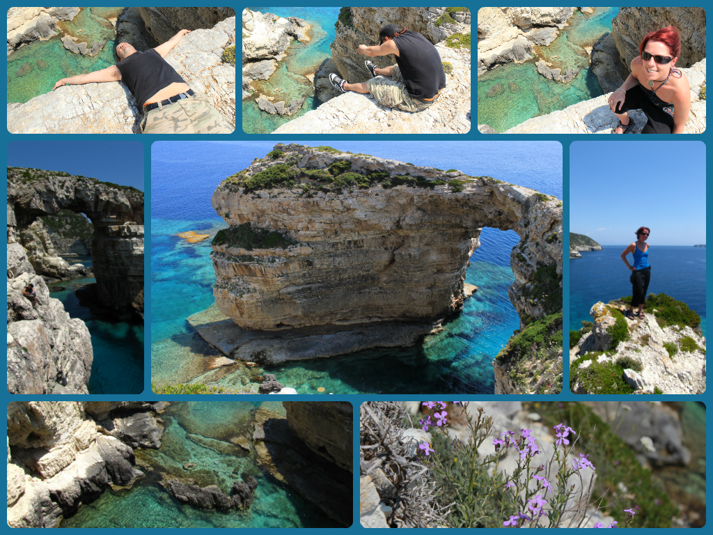 My favourite spot on the Greek island of Paxos...I never tire of the views from Tripitos Arch