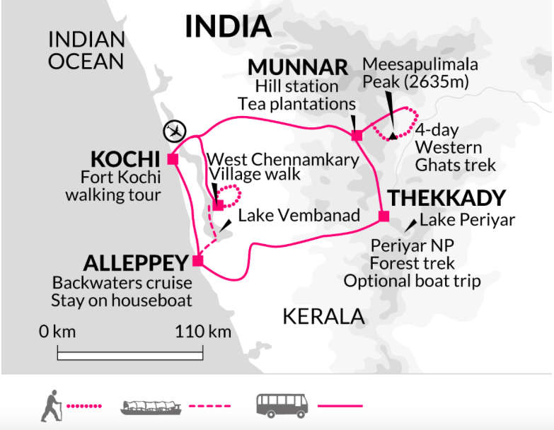 On Foot in Kerala: Exploring Southern India with Adventure
