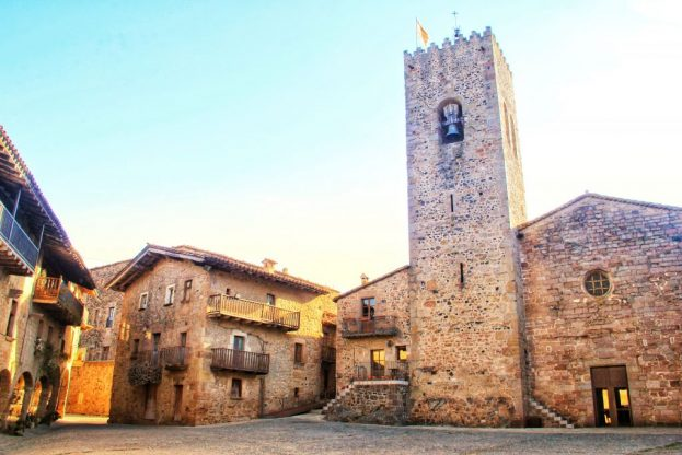 Santa Pau, Catalonia: A Perfectly Preserved Medieval Town